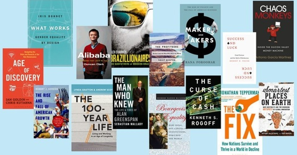Business Book of the Year 2016 – longlist